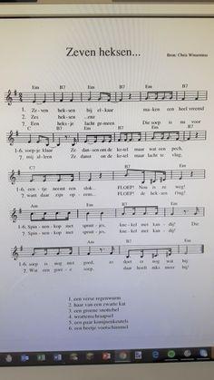 Liedje en muziek Zeven heksen