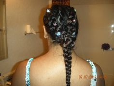 A new hair braid. I did it myself.