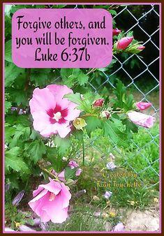 Bible Verse For Today, Bible Verses, Bible Forgiveness, Luke 6, Scripture Verses, Bible Scripture Quotes, Bible Scriptures, Scriptures