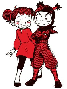 Geez, I haven't thought about Pucca for years. I used to watch this show all the time when I was a kid. Cartoon As Anime, Cartoon Games, Cartoon Shows, Anime Comics, Cartoon Art, Cartoon Characters, Manga Anime, Anime Art, Character Art
