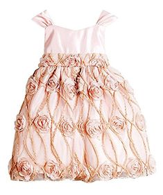 Baby & Toddler Clothing Girls' Clothing (newborn-5t) Energetic Nwt Special Occasion By Marmellata Baby Girls Pink 2 Piece Dress Set 12m