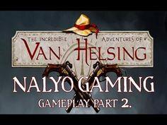 The Incredible Adventures of Van Helsing, Gameplay Part 2. on PlayStatio...