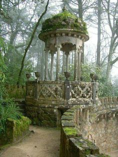 Beautiful old garden gazebo