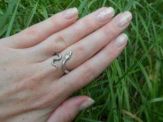 White Lace Nails  LadyAlayna.tumblr.com / Alayna Josz