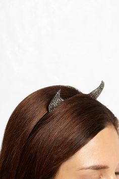 Swarovski horns.