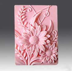 La Tartelette Silicone Mold Silicone Mold Craft Art Silicone Soap Mold Craft Molds DIY Handmade Soap Molds Sunflower *** For more information, visit image link. (This is an affiliate link) Crafts For Teens To Make, Diy And Crafts, Arts And Crafts, Sunflower Crafts, Sunflower Flower, Decorative Soaps, Soap Carving, Dollar Store Crafts, Handmade Soaps