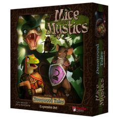 Downwood Tales - Third expansion for Mice and Mystics, chock full of new characters, maps, and components. It seems that it can almost be played as a stand alone (though it's definitely an expansion).