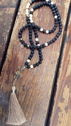 50% Spring Sale - Chronos Mala  Beads - Lila&Zuri Jewelry - wear your sacred…