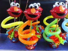 centro de mesas, Elmo Baby