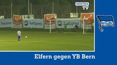 Elfmeterschießen Hertha BSC - Young Boys Bern - Highlights - Berlin  - #...