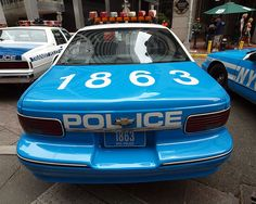 Annual Vintage Police Car Show on June 2012 outside the historic New York City Police Museum. Emergency Vehicles, Police Vehicles, Old Police Cars, Police Patrol, New York Police, Chevrolet Caprice, Cars Usa, Special Forces, Law Enforcement