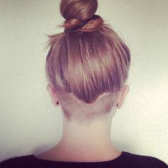 I did it! Nape undercut! Undercut ~ Napecut ~ Hair ~ Neck ~ Short