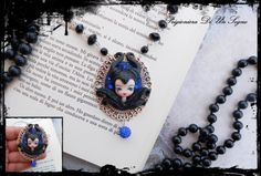Maleficent fan art  entirely modeled by hand with polymer clay by me