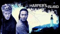 """Harper's Island"" TV Show on CBS (2009) --- In this mystery series, a group of friends visits a secluded island off the Washington coast for a wedding...but the fun is cut short by murder. The murderer claims more victims, leaving the dwindling survivors to figure out who's behind the plot. Starring Katie Cassidy and Christopher Gorham. A fun and campy spin on the genre and an enjoyable (if short-lived) summer series."