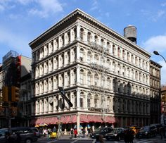 Cast Iron Architecture in Soho New York | Cast Iron Architecture ...