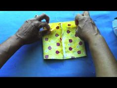 ▶ How to make cute Tissue Pack Covers for gifts! - YouTube...KA- I'm going to add another inch to the length of the fabric so I can overlap the flap by an inch. I think it will hold tighter and look cleaner that way. This is the easiest one I have seen though.