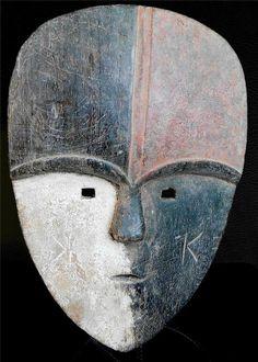 Fine Tribal Aduma Mask Congo