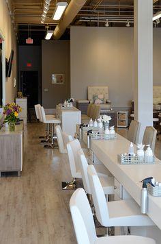 Nail Salon Interior FitOut Radnor, PA