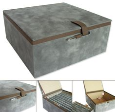 Box to keep the rings of a Grandmother with very good taste!  Velvet, cotton canvas, silk tapes, little flower pattern and Chinese closure in stainless steel.  20x20x8cm  http://www.facebook.com/filipapaisrodrigues
