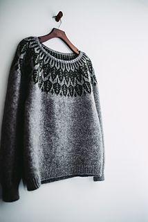 Ravelry: Arboreal pattern by Jennifer Steingass Knitting Patterns Free, Free Pattern, Knitting Ideas, Stockinette, Ravelry, Knit Crochet, My Design, Pullover, Wool