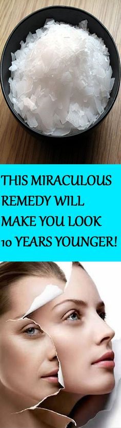 "ATTENTION WOMEN: WE HAVE FOUND ""THE FOUNTAIN OF YOUTH"" – THIS MIRACULOUS REMEDY WILL MAKE YOU LOOK 10 YEARS YOUNGER!"