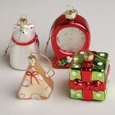 Twas The Night Ornaments 4 Pack now featured on Fab.