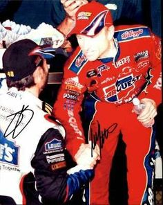 Jimmie Johnson Autographed Picture - mark Martin Lowes carquest Original 8x10 Ar Loa - Autographed NASCAR Photos by Sports Memorabilia. $73.65. JIMMIE JOHNSON/MARK MARTIN LOWES/CARQUEST SIGNED ORIGINAL 8X10 PHOTO AR LOA