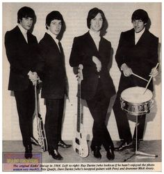 The Kinks Rogers Drums, Blue Soul, Dave Davies, The Kinks, Sibling Rivalry, Love Me Do, British Rock, Frank Zappa, British Invasion