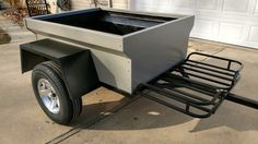 Mitch's shortened M-Series M416 trailer painted and ready for some adventures