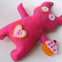 Zet the monster softie by sunnydayshere, via Flickr