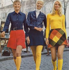 I remember having yellow tights and some great red and yellow shoes with wings on the back