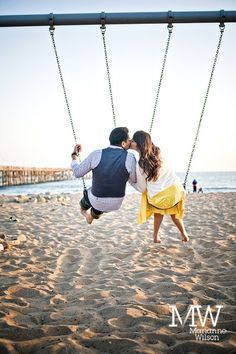 Pismo Beach swings!