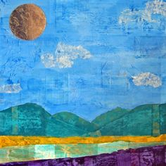 Large Original Collage Art Mixed Media by 111collagedesign on Etsy, $850.00