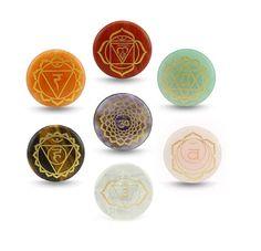 7PCS Seven Chakas Stone - 7 Chakras - Healing #everythingelse #religious @EtsyMktgTool http://etsy.me/2C9Qqn7 #chakra #chakrahealingstone