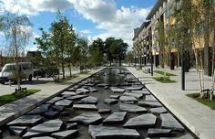 Cracked-Stones-Street,-The-Netherlands