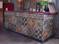 Salvo tiles.  cement tiles | ... Floor Tiles (cement) approx. 18 m² Cement Mosaic Tiles as Wall Tiles