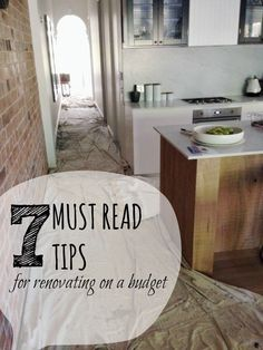How to enjoy the renovation process when you're on a very tight budget