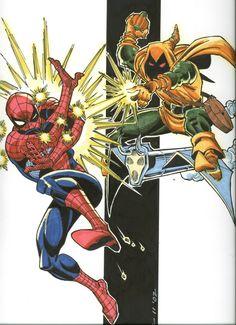 Frenz, Ron - Hobgoblin / Spider-Man Comic Art