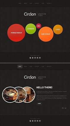 Circlon Design Moto CMS HTML Templates by Sawyer
