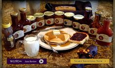 Xylitol sweetened jams, syrups and more!