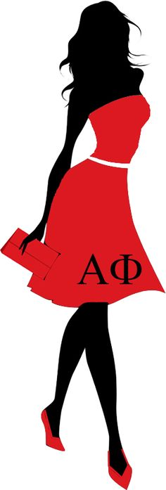 Alpha phi red dress gala pictures