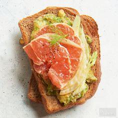 Avocado-Fennel Breakfast Sandwich