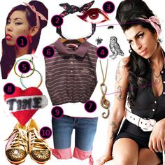 DIY The Look: Amy Winehouse · DIY The Look · Cut Out + Keep