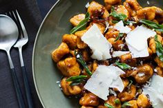 Sweet potato Gnocchi with Balsamic-Sage Brown Butter from Aida Mollenkamp