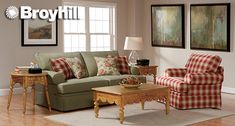 checkerd couches | ... Sofa, Queen Sofa Sleeper, Love Seat and Arm Chair in contrasting red