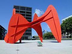 Calder Plaza, Grand Rapids, MI