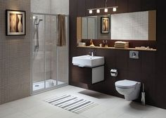 Bathroom Brown Colors | Modern Bathroom Color Schemes U2013 To The Selection Of  The Proper Color