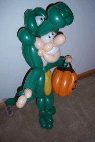 halloween balloon animals dont do it yourself - Halloween Balloon Animals
