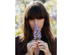 @Byrdie Beauty - Who needs to see when you've got fringe this fabulous?