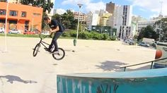 Sao Paulo, Brazil native Ruan Mosca makes a statement in the BMX scene with his introductory BMX video. This is too good!